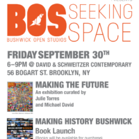 Arts in Bushwick open studios David Schweitzer BOS16